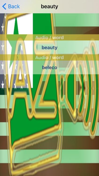 Esperanto Dictionary GoldEdition screenshot-4