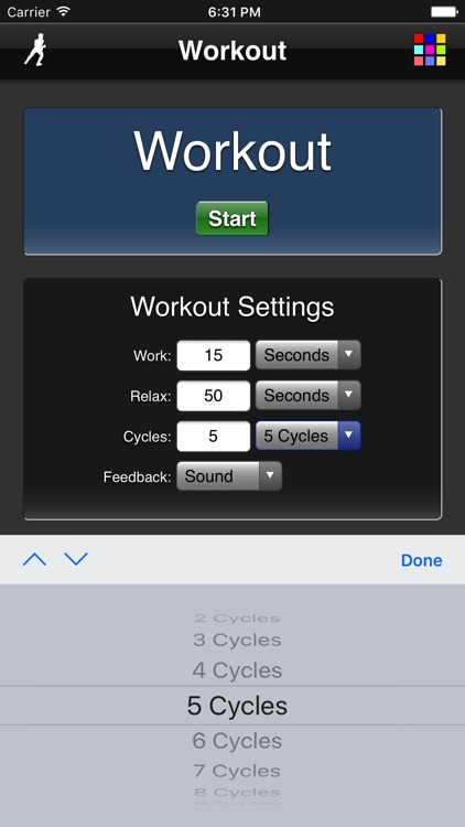 Workout screenshot-3
