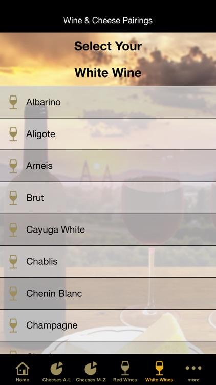Wine & Cheese Pairings screenshot-4
