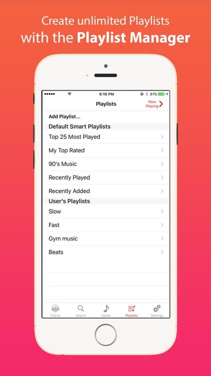 iMusic - Music Mp3 Player & Video Song Streamer screenshot-4