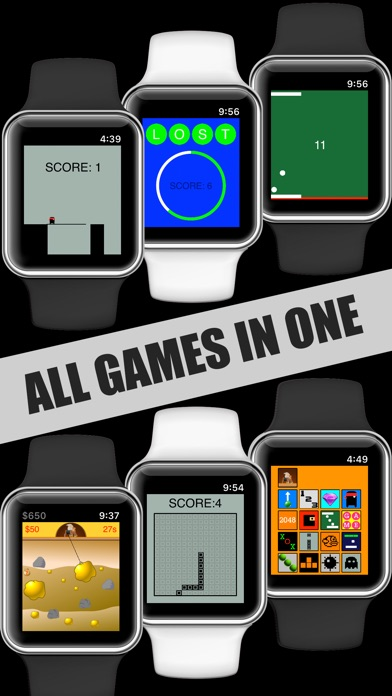 17 Mini Games For Watch & Phone app image