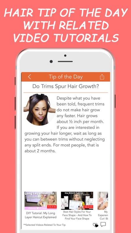 Hair Alone Personalized Expert Hairstyling Advice screenshot-4