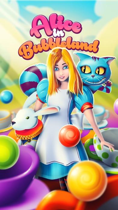Alice Bubble POP in Wonderland screenshot one
