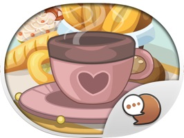 Coffee Stickers for iMessage by ChatStick