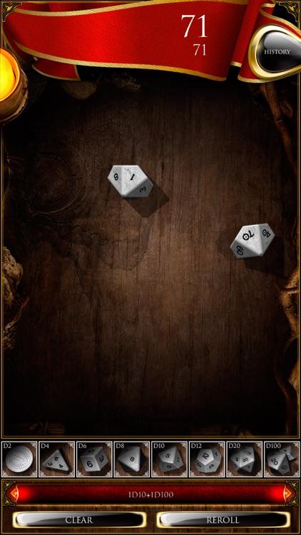 Dice roller for D&D screenshot-3