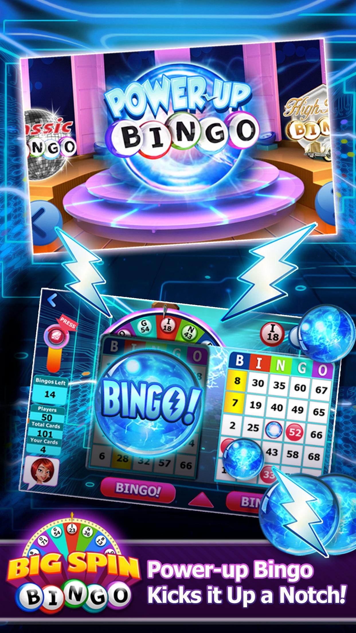 Big Spin Bingo Best Bingo Game Screenshot