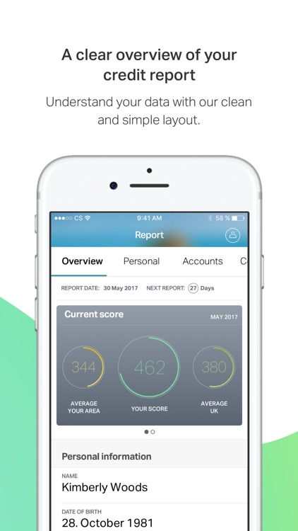 ClearScore – track your credit score & finances