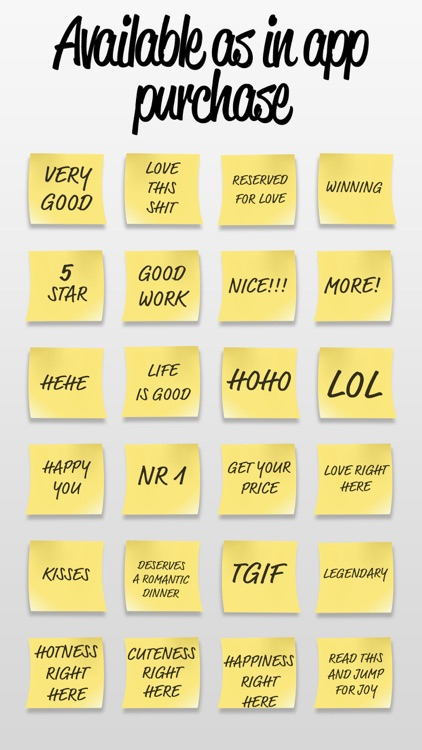 Post it Stickers Happy screenshot-4