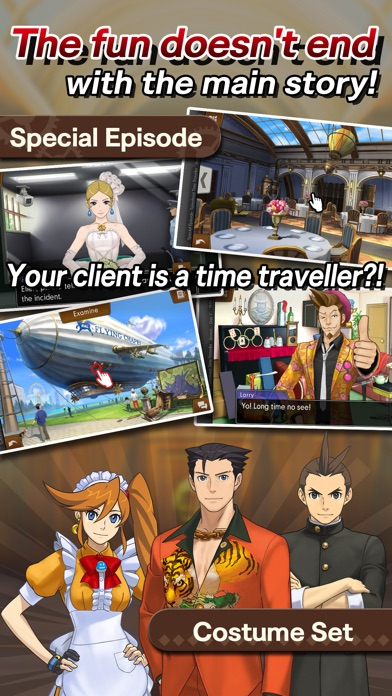 Ace Attorney Spirit of Justice screenshot 5