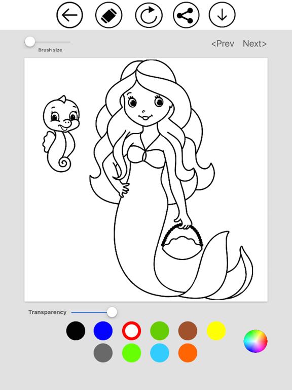 Mermaid Coloring screenshot 8
