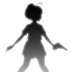 シルエット少女