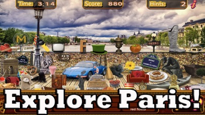Hidden Objects Paris Adventure Object Time Puzzle screenshot two