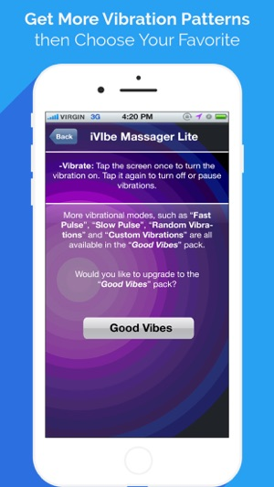iphone randomly vibrates ivibe vibrating massager on the app 3139