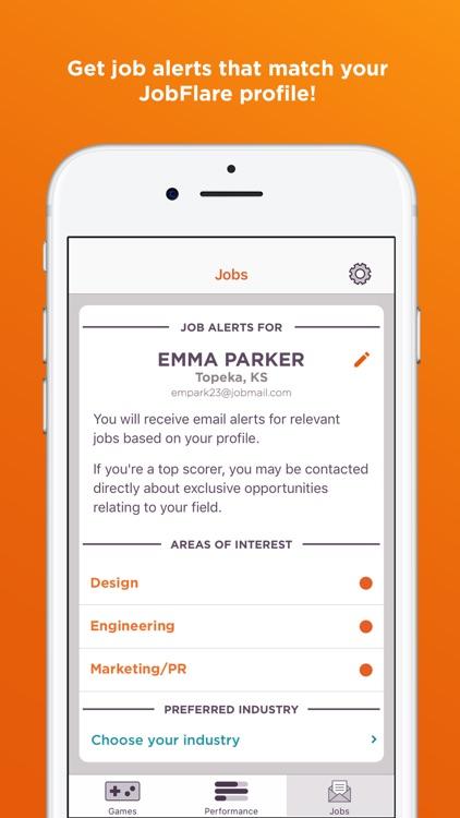 JobFlare: Brain Games for Jobs screenshot-4