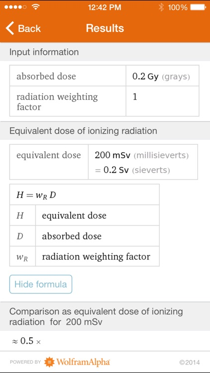 Wolfram Radiation Protection Reference App screenshot-3