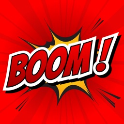 BOOM - Funny Comic Stickers