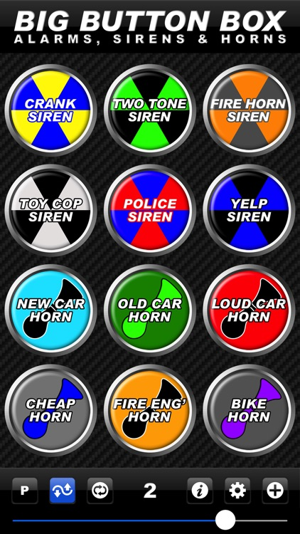 Big Button Box: Alarms, Sirens & Horns - sound fx screenshot-1