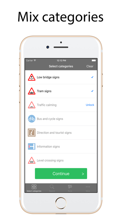 Road Signs Quiz Lite screenshot four