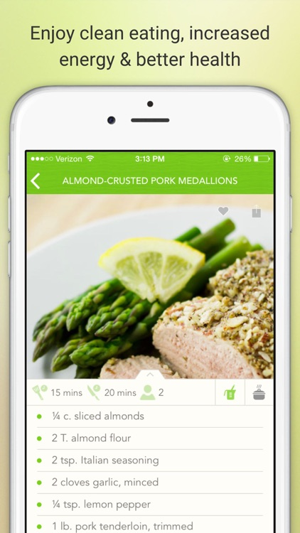 Eat Paleo - Delicious Paleo Diet Recipes and Meals screenshot-3
