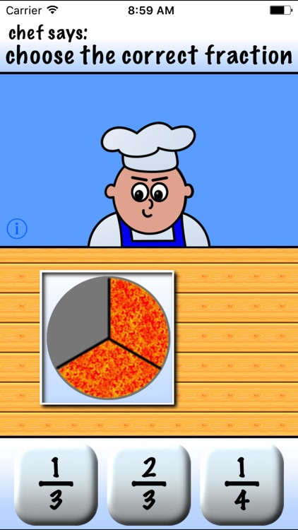 Pizza Fractions 1