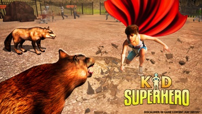 Superhero Kid Animal Rescue – Hero of Justice