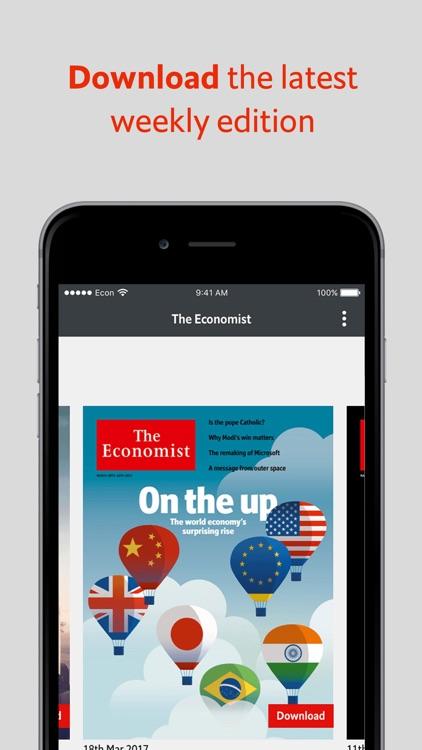 The Economist: US & World News, Business, Politics app image