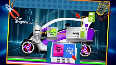 電気自動車修理工場 - 自動車整備士のスクリーンショット2