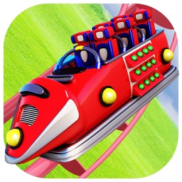 Fantasy World Roller Coaster Simulation 3D