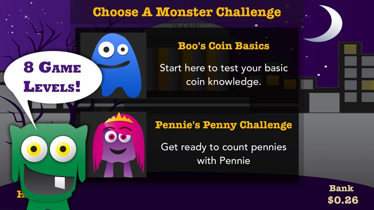 Coin Monsters – Money math game, counting coins screenshot-3