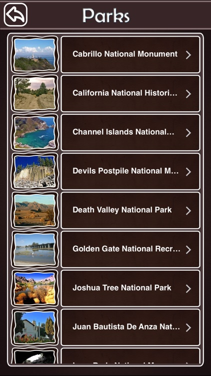 California National & State Parks screenshot-2