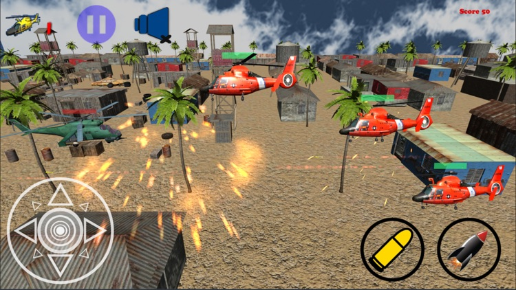 Helicopter Shooting Game