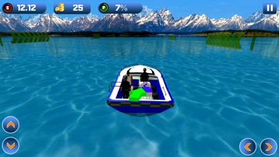 Power Boat Transporter: Police - Pro Screenshot 2