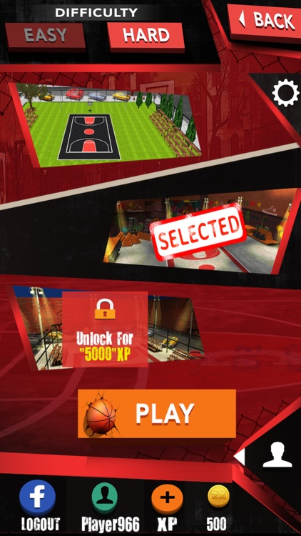 Street basketball-basketball shooting games screenshot-1