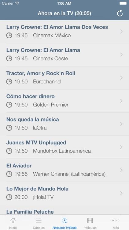 Televisión de Puerto Rico Guía screenshot-3