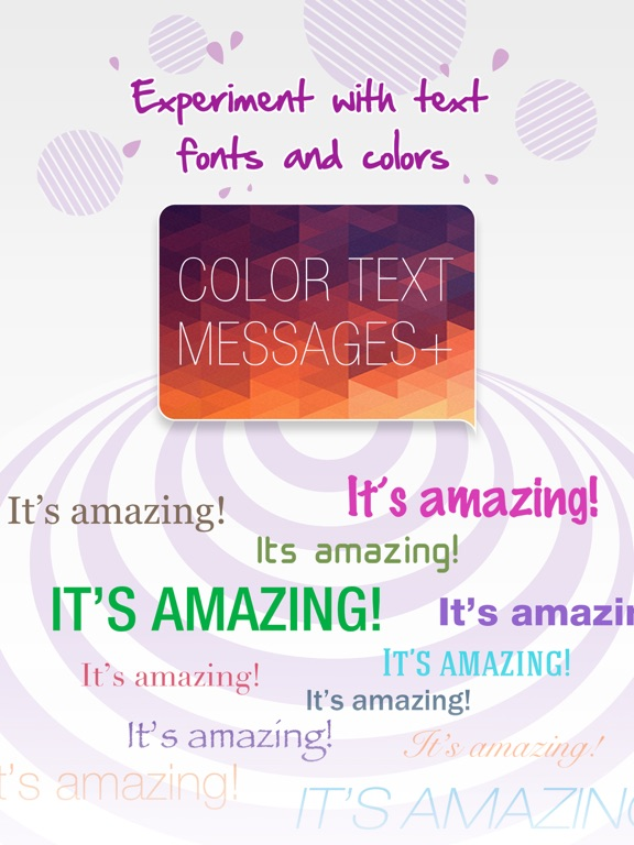 Color Text Messages+ Customize Keyboard Now Free screenshot