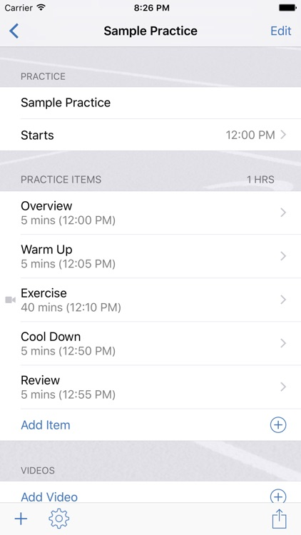 InfiniteTrack Practice Planner screenshot-1