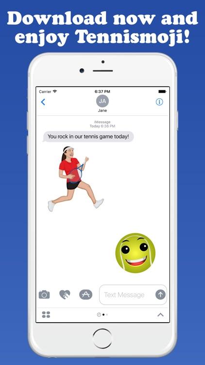 TennisMoji - Tennis Emoji Keyboard screenshot-4