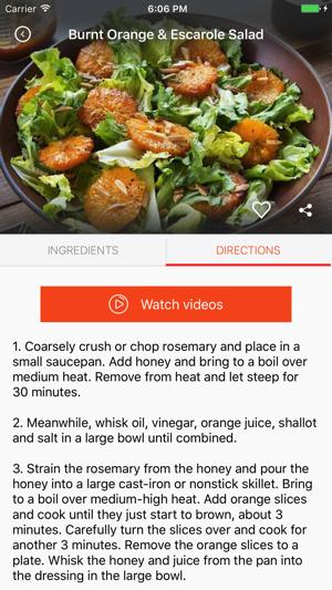 Vegetarian Recipes: Food recipes & cookbook on the App Store