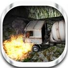 camión de cemento carreras de subida de la colina icon