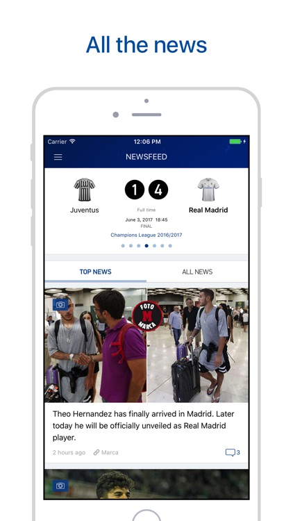 Real Live – Scores & News for R. Madrid Fans