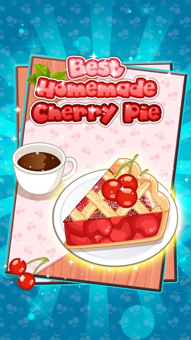 Best Homemade Cherry Pie - Cooking game for kids screenshot two