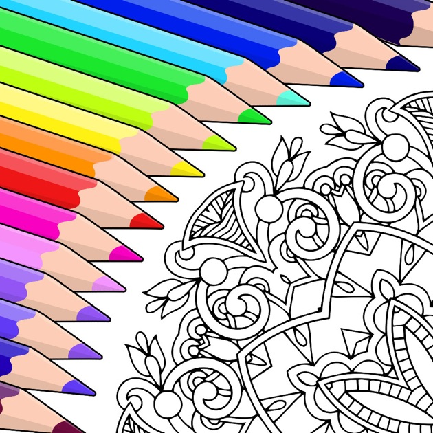 Colouring Book Colorfy Coloring For Adults On The App Store