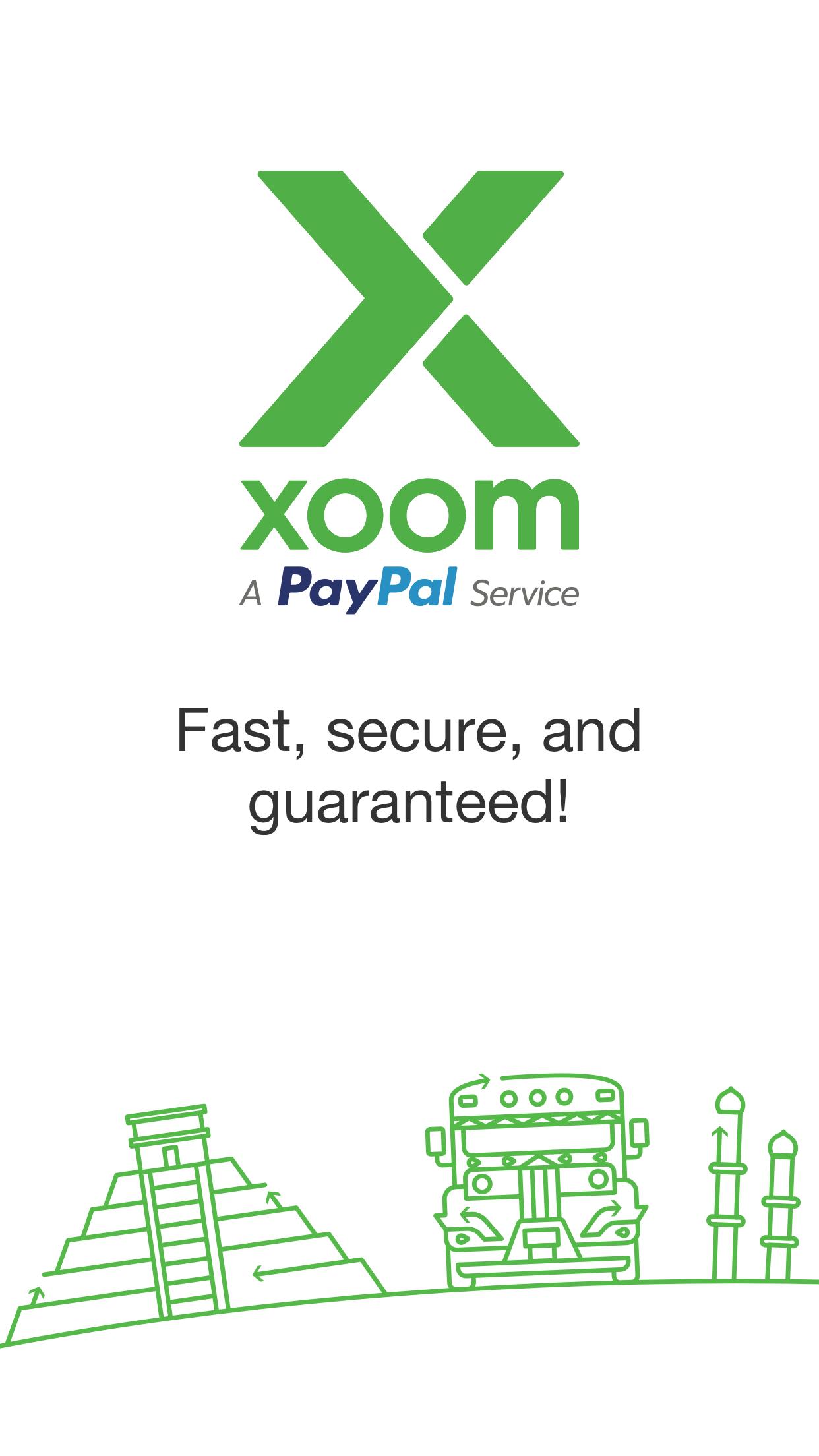 Xoom Money Transfer Screenshot