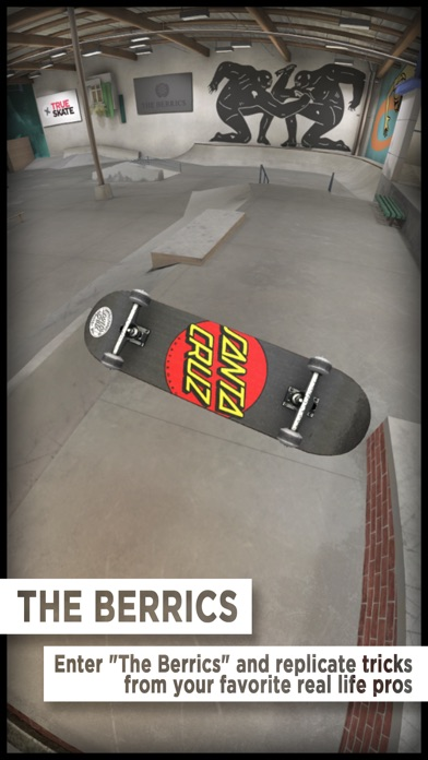Screenshot of True Skate App