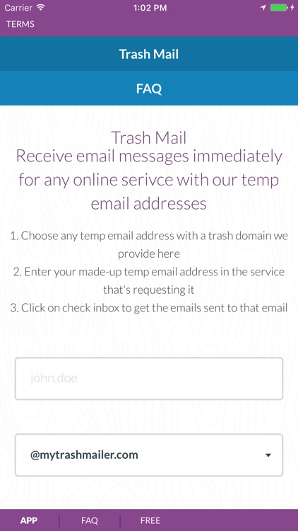 Trash Mail - Create temp email addresses by Blacktelio OÜ