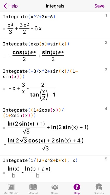 MathStudio - Symbolic graphing calculator