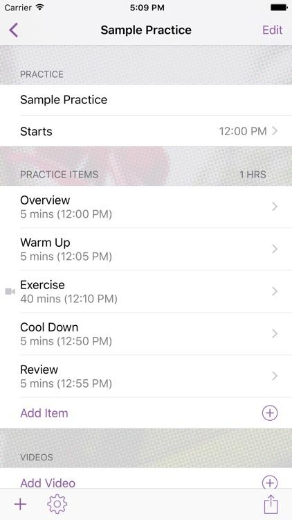 InfinitePilates Practice Planner