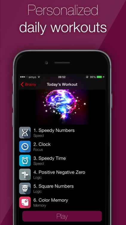 Brainy - Brain Training screenshot-4