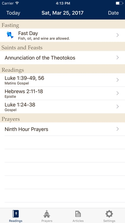 Daily Readings Lite - Military