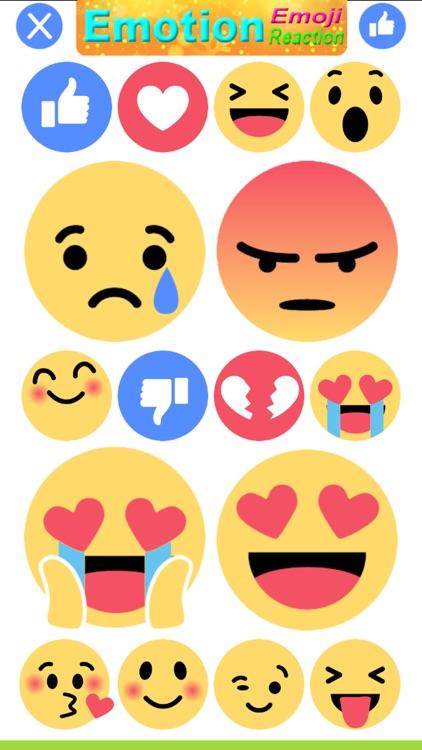 Emotion Stickers-Emoji Reaction Stickers screenshot-3